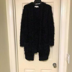 John + Jenn Fluffy Cardigan Sweater